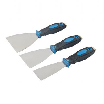 3 Piece Silverline 661661 Expert Filler Knife Set